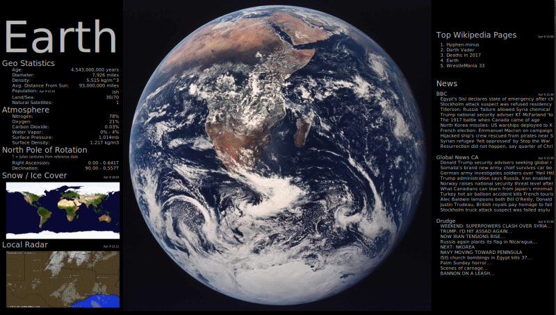 Earth Screenshot