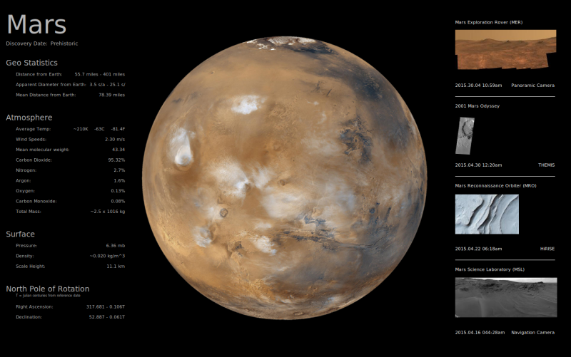 Mars Screenshot
