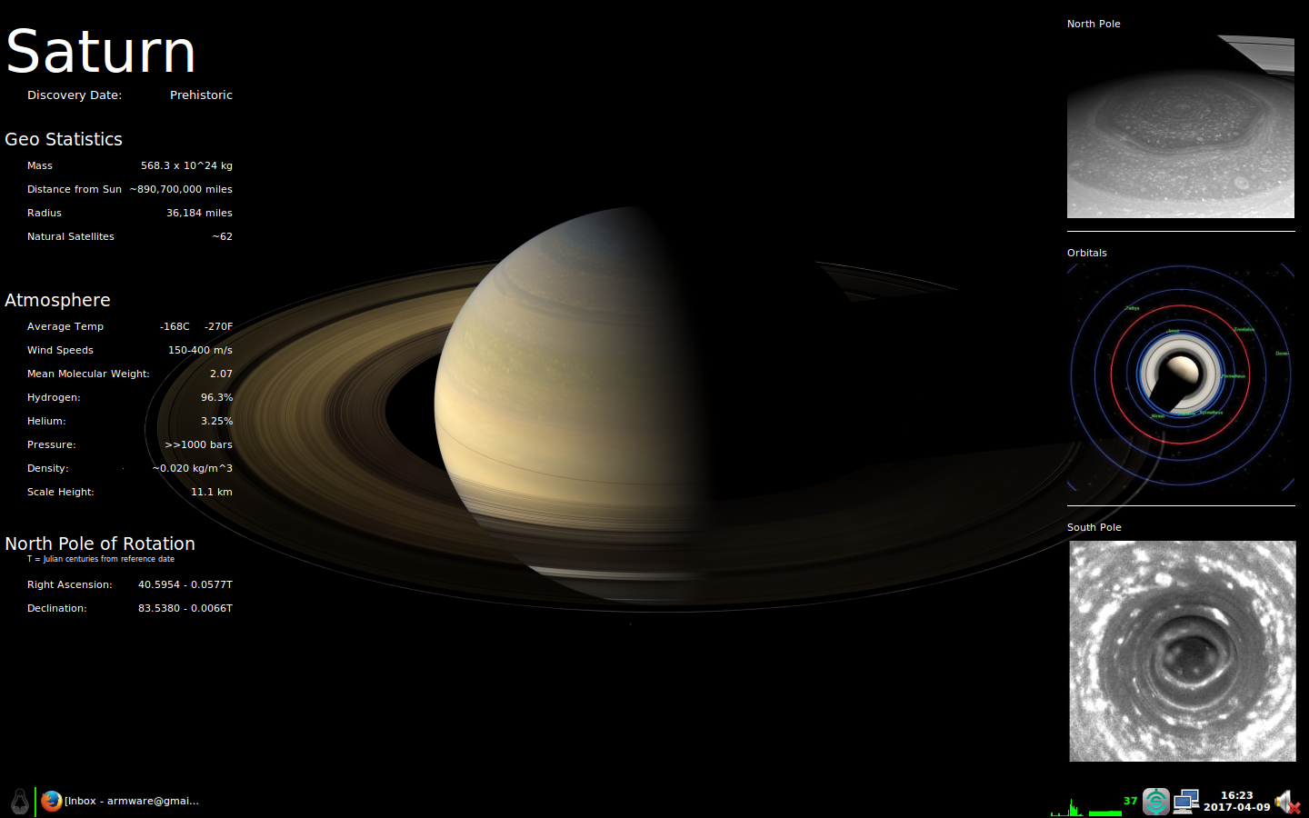 Saturn Screenshot